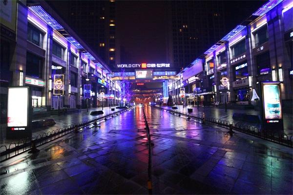 城市夜景亮化施工