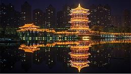 古建筑夜景亮化成为城市历史文化的载体