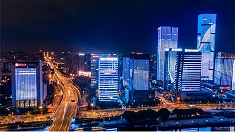 城市灯光秀是展现城市夜景魅力的重要形式