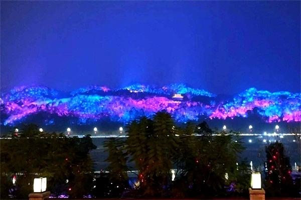 山体灯光亮化-用灯光重构夜间景象