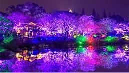 园林灯光亮化设计应与周边环境相协调