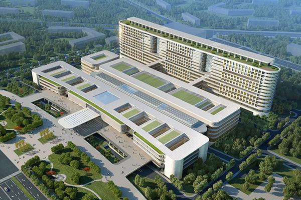 第一人民医院亮化工程前
