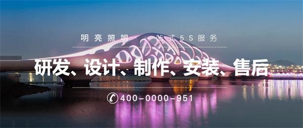桥梁景观亮化设计要突出其观赏价值