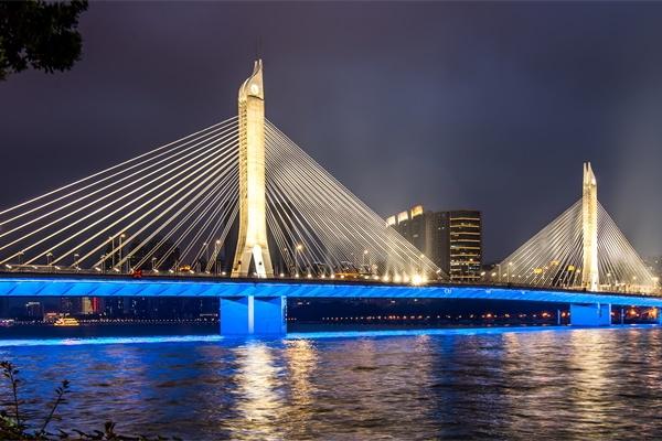 大桥夜景景观亮化