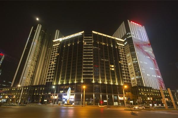 建筑物夜景亮化