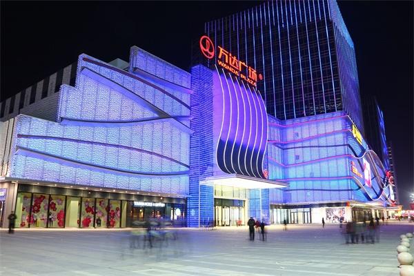 商业综合体灯光照明是城市发展的原动力之一