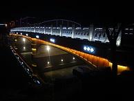 桥梁景观亮化公司-灯光效果与桥梁相结合