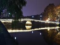 景观桥亮化工程-融合造型艺术与灯光元素