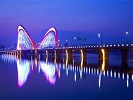 大桥景观亮化-变成城市经济关键构成
