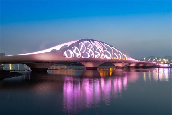 桥梁亮化设计-象征城市经济发展实力