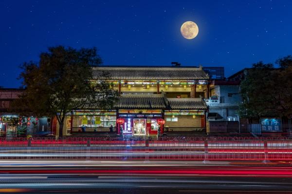 城市建筑灯光亮化
