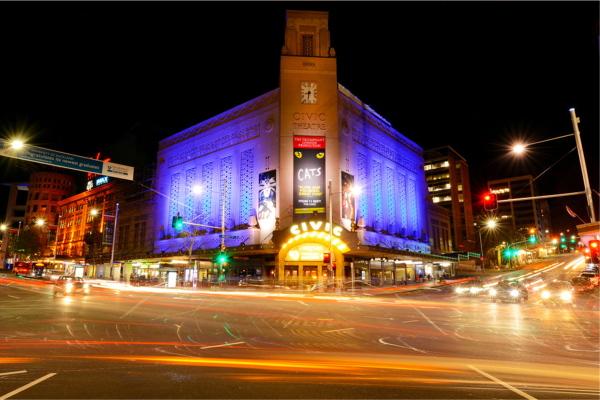 商业街道灯光工程照明