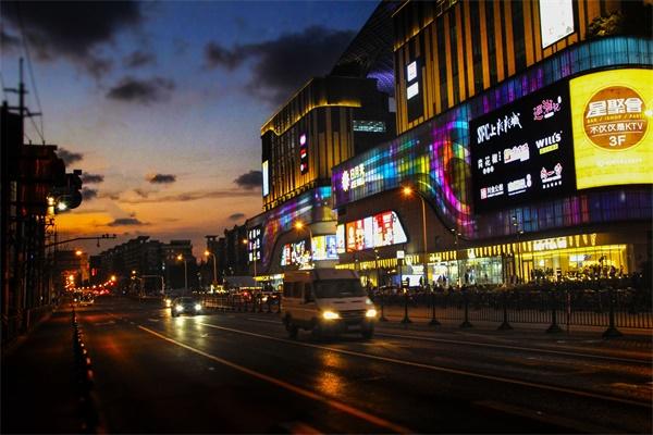 商业街区工程照明