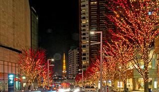 商业街景观照明