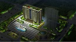河南三门峡市中裕能源办公楼亮化工程