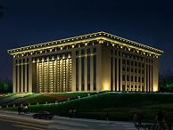市政亮化设计-呈现大楼夜间形象