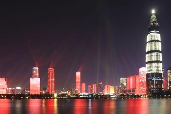 城市灯光秀