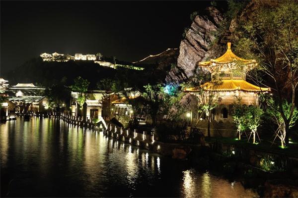 文旅夜游灯光能够满足市民多元化需求