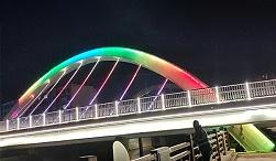 许昌长葛市明珠桥桥梁亮化工程