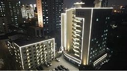 河南省司法厅办公楼楼体亮化工程