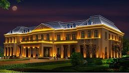 别墅庭院亮化设计要密切贴合建筑风格