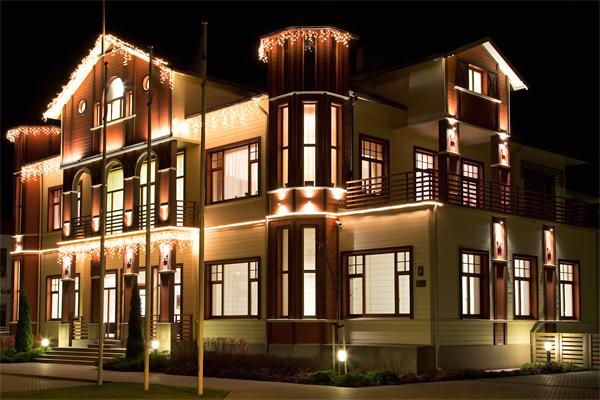 建筑灯光亮化设计
