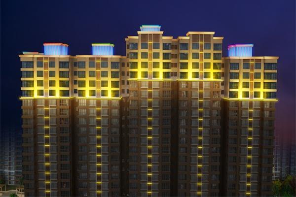 住宅小区亮化设计标注你有哪些?
