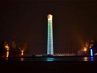 水泥烟囱亮化-城市持续发展趋势