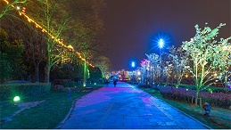 高品质的公园灯光亮化设计需要注重的几个点