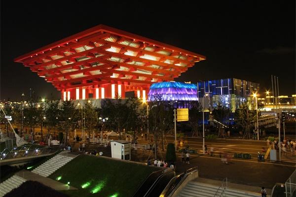 博览建筑亮化照明