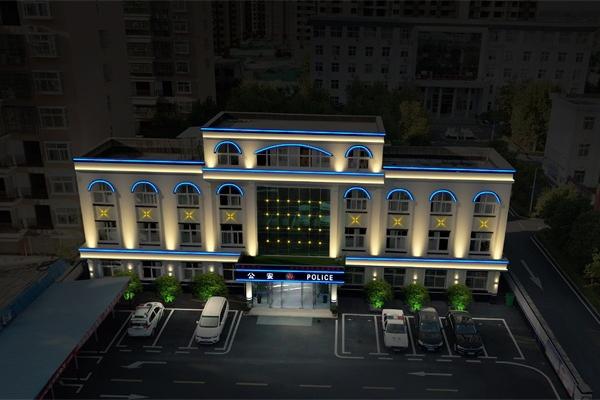 信阳市市政外墙亮化工程效果