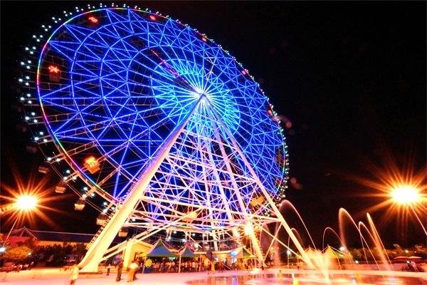 游乐园亮化照明-提升夜游经济发展