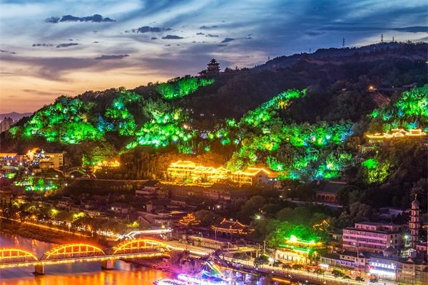 园林亮化照明-符合人们夜间审美需求