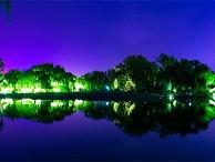园林亮化工程-应与周边照明紧密结合