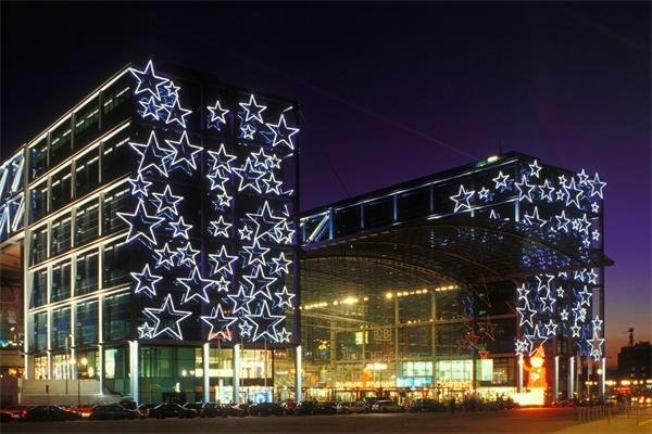 商业楼灯光照明