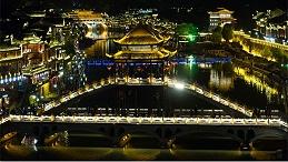 特色小镇景观照明设计注重文化特色氛围