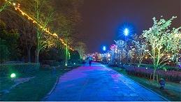 城市广场夜景照明能够体现时代特色