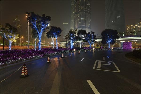 广场灯光亮化