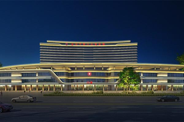 医院亮化设计-要符合城市经济发展