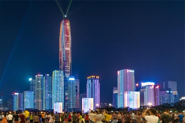 城市夜景照明打造独具特色的城市形象