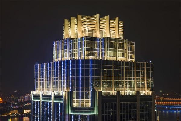 楼体灯光设计