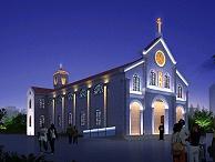 教堂亮化设计方案
