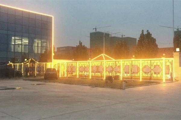 郑州市中铁七局楼体亮化工程