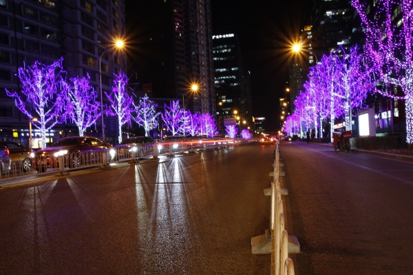 街道亮化工程应该注意的几项原则