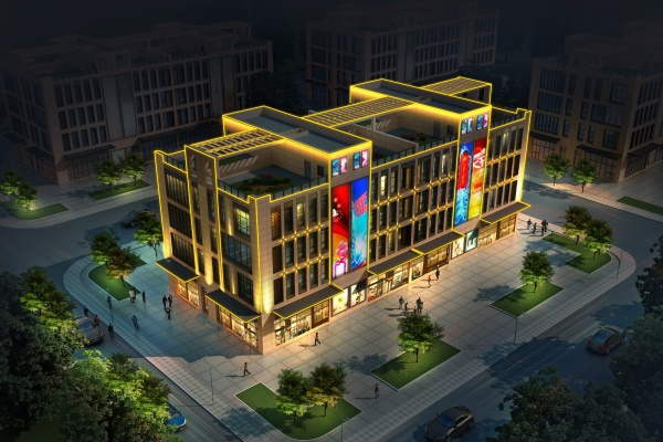 郑州市华府国际亮化工程