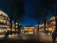 商业街夜景亮化-凸显个性化设计效果