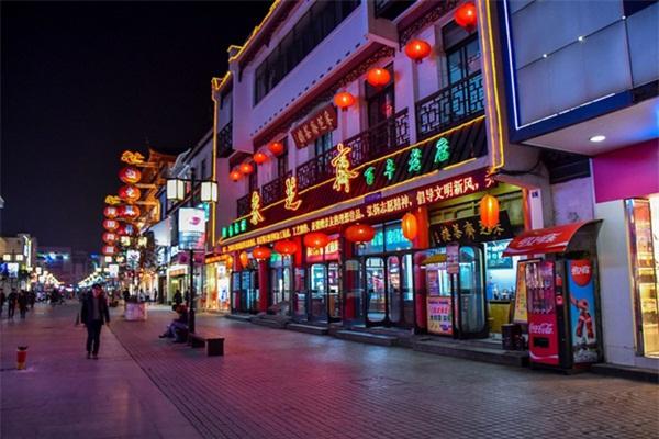 商业街亮化设计-是城市夜景亮化基本建设