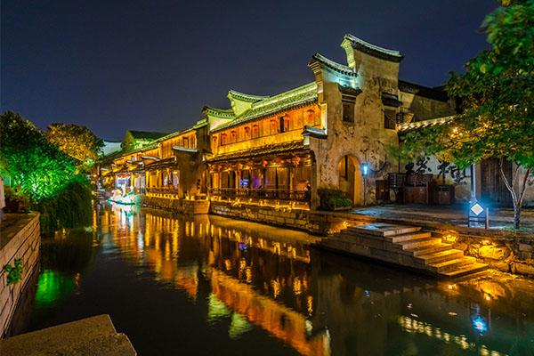 河南河道亮化-重构城市夜间景观形象