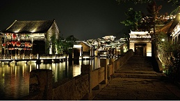 景区夜景灯光照明能够提升城市对外形象