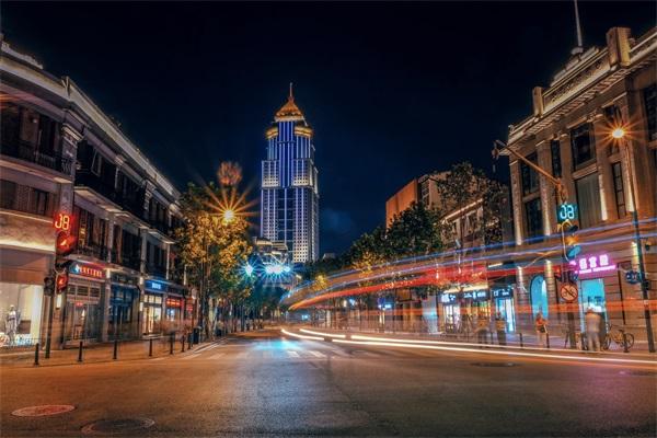 步行街夜景亮化